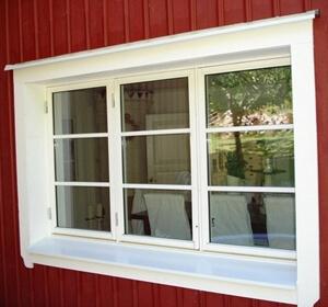 Måla fönster utvändigt