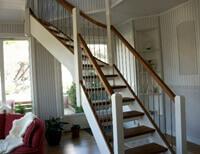 Bygga trappräcke inomhus