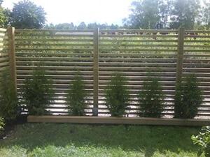 bygga staket med jordankare